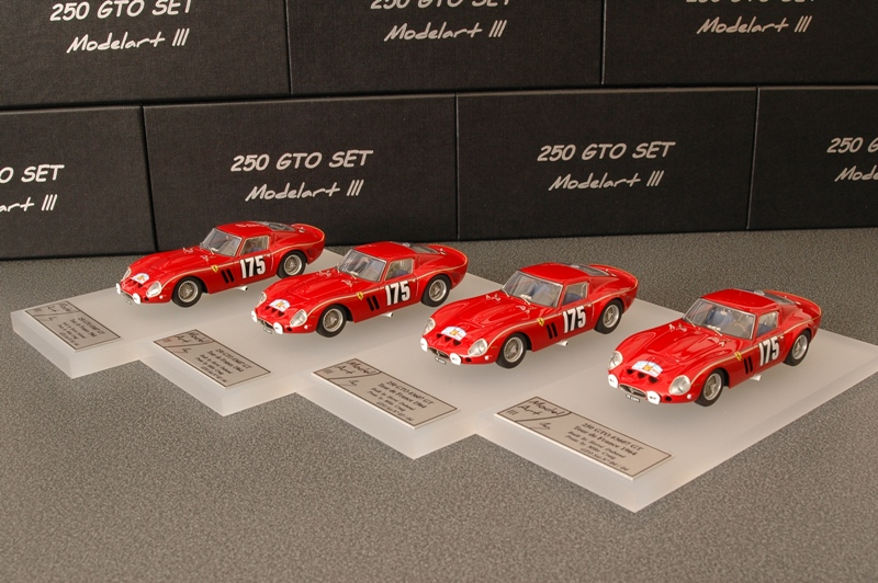 Modelart111 250 GTO Set : #3607 Tour de France 1964